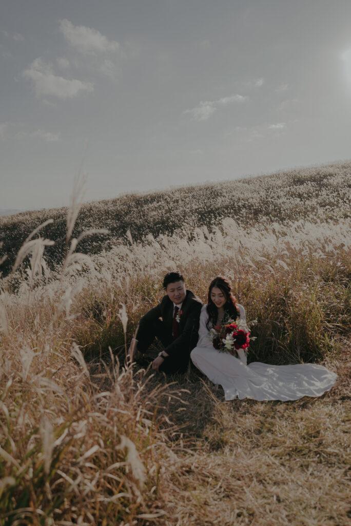 フォトウェディング(結婚式前撮り)おすすめ撮影スポット/生石高原(和歌山県)