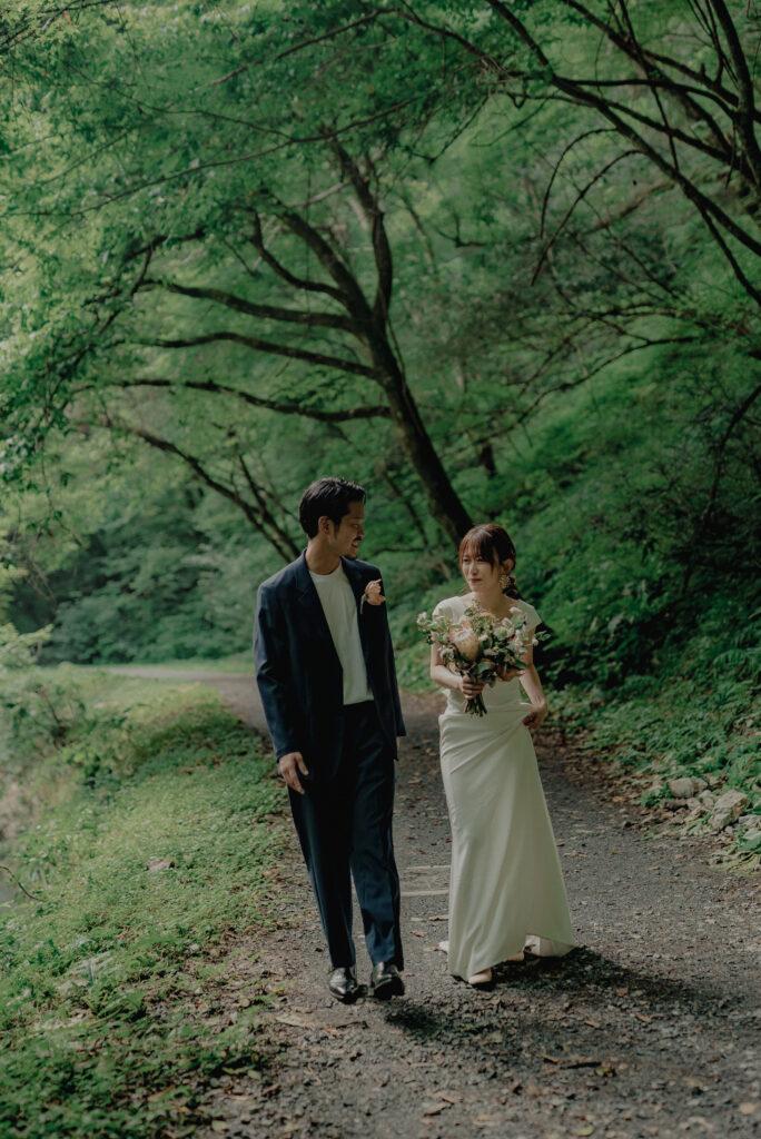 フォトウェディング(結婚式前撮り)広島県のおすすめ撮影スポット帝釈峡
