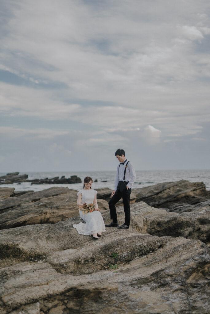 フォトウェディング(結婚式前撮り)神奈川県のおすすめ撮影スポット城ヶ島