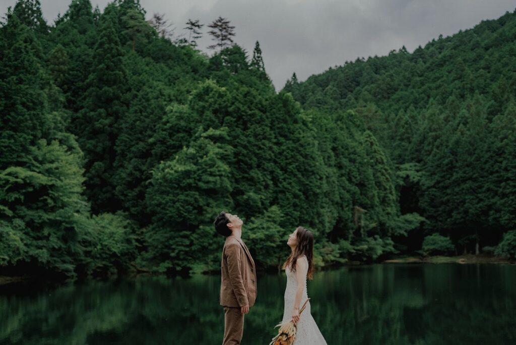 フォトウェディング(結婚式前撮り)三重県のおすすめ撮影スポット赤目四十八滝